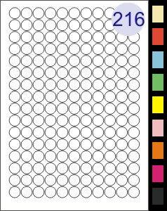 216 Labels Per Page