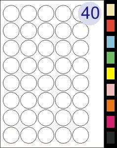 40 Labels Per Page