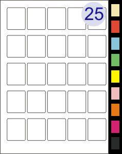 5 across x 5 down