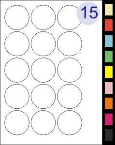 15 Labels Per Page