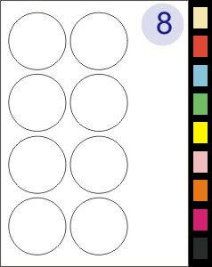 8 Labels Per Page
