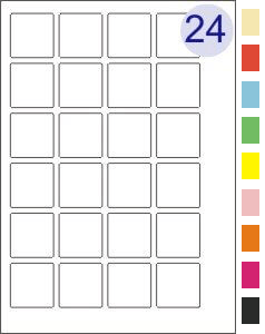 4 across x 6 down