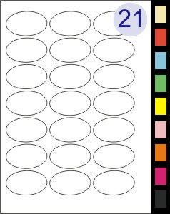 21 Labels Per Page