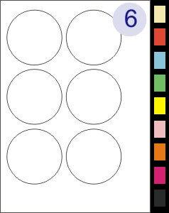6 Labels Per Page