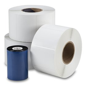 Thermal labels and Ribbons