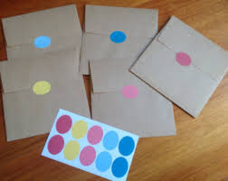 Coloured Mailing Labels