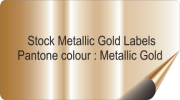 Gold Coloured Labels