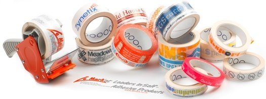 Slelection of Printed Logo Tape