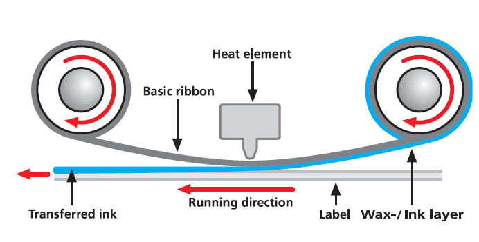 Thermal Transfer Labels in detail